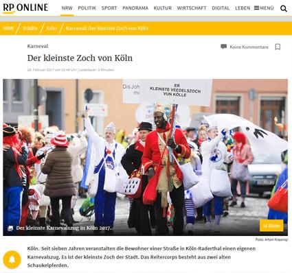 25.02.2017: Der kleinste Zoch von Köln