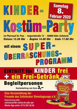 Kinder-Kostüm-Party Zollstock